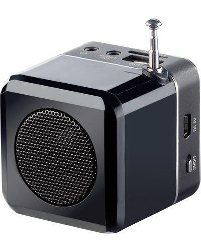 station mp3 de poche mps 550 cube avec radio int gr e. Black Bedroom Furniture Sets. Home Design Ideas